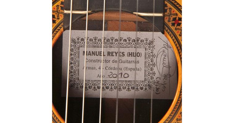Manuel Reyes Hijo 2010 - Guitar 1 - Photo 5