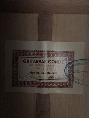 Guitarras Conde 2017 - Guitar 3 - Photo 1