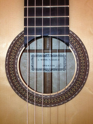 Jose Marin Plazuelo 2012 - Guitar 1 - Photo 1