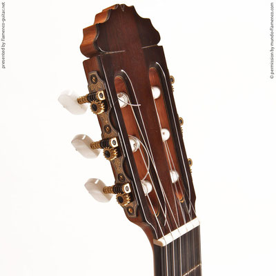 MANUEL REYES HIJO | GUITAR  GITARRE | 2010  | HEADSTOCKS | GITARREN-KOPF