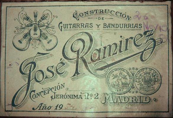 Jose Ramirez 1954 - Guitar 1 - Photo 5