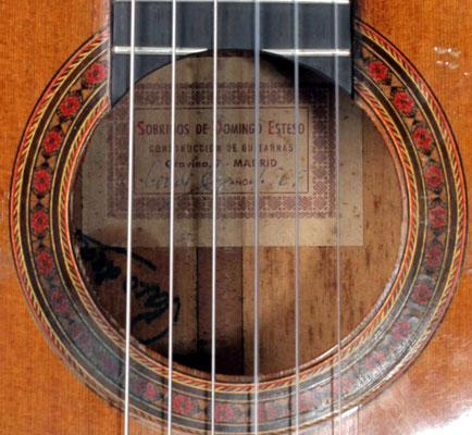 SOBRINOS DE DOMINGO ESTESO - 1965 - Paco de Lucia - Guitar 2 - Photo 2