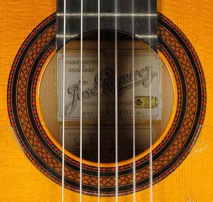 Jose Ramirez 1961 - Guitar 1 - Photo 5