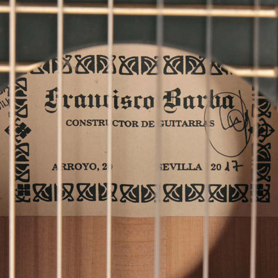Francisco Barba 2017 - Guitar 4 - Photo 10