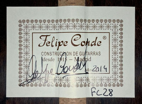Felipe Conde 2014 - Guitar 3 - Photo 6