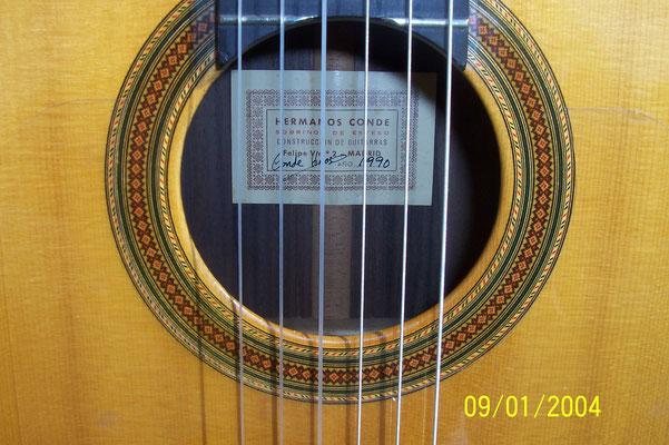 Hermanos Conde - Sobrinos de Esteso - 1990 - Guitar 4 - Photo 9