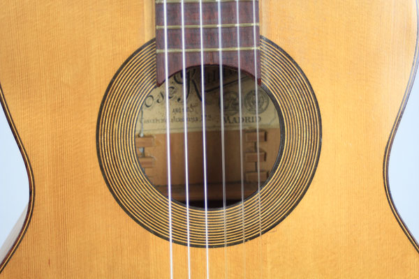 Jose Ramirez 1905 - Guitar 1 - Photo 17