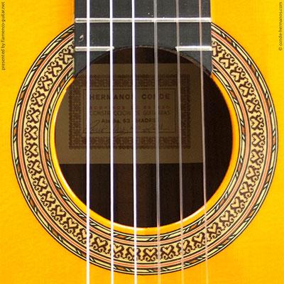 HERMANOS CONDE - SOBRINOS DE ESTESO 2011 #2 - ROSETTE - BOCA