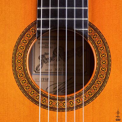 Jose Ramirez 1977 - Guitar 2 - Photo 10