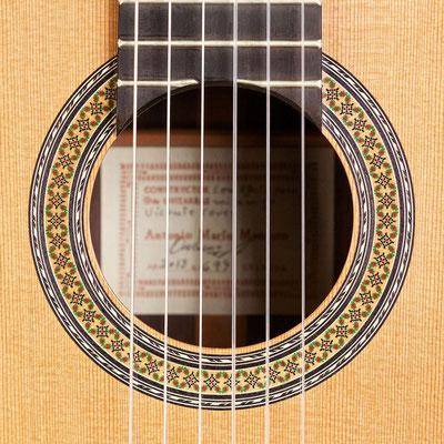 Antonio Marin Montero 2013 - Guitar 1 - Photo 3