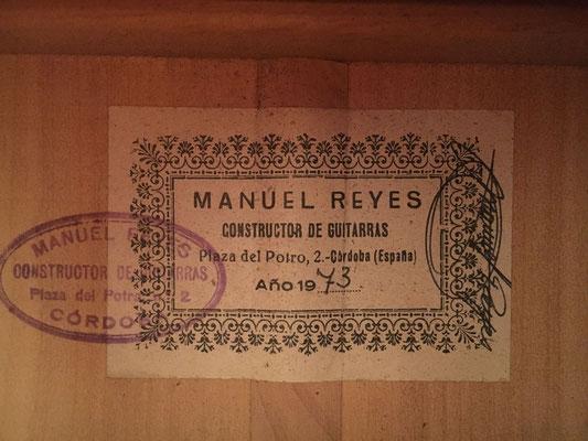 Manuel Reyes 1973 - Guitar 3 - Photo 5