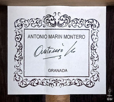 Antonio Marin Montero 2006 - Guitar 2 - Photo 10