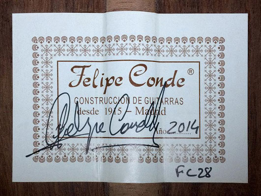 Felipe Conde 2014 - Guitar 4 - Photo 6