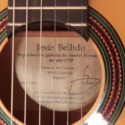 Jesus Bellido 2014 - Guitar 2 - Photo 1