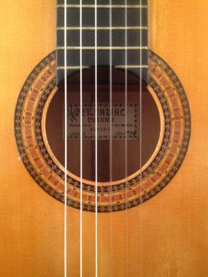 Gerundino Fernandez 1987 - Guitar 1 - Photo 1