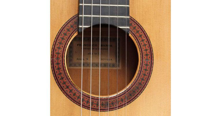 Francisco Barba 1973 - Guitar 1 - Photo 10