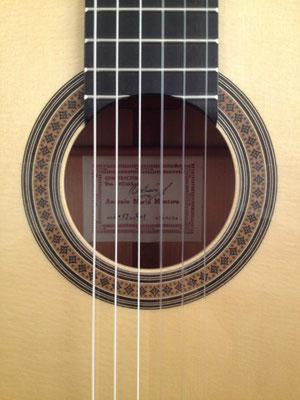 Antonio Marin Montero 2013 - Guitar 3 - Photo 16