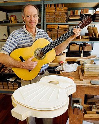 Lester Devoe Luthier & Paco de Lucia - Gitarrenbauer - Flamenco Guitar - Flamenco Gitarre