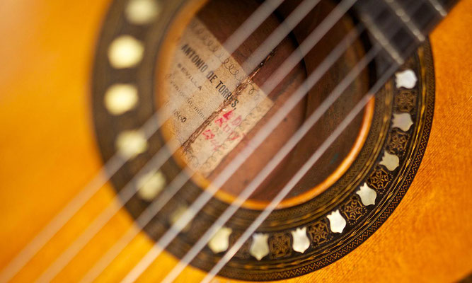 Antonio de Torres 1860 - Guitar 1 - Photo 11