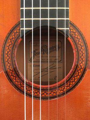 Jose Ramirez 1968 - Guitar 4 - Photo 1