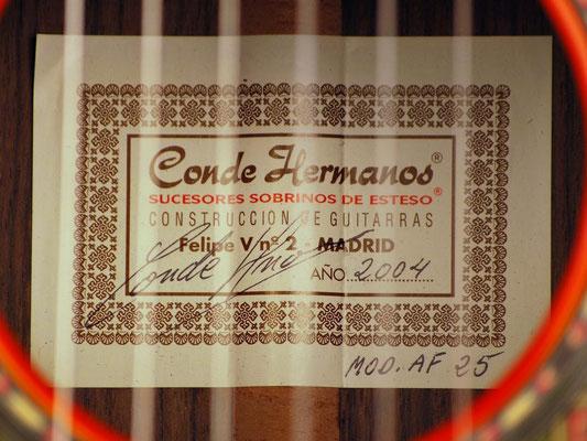 Hermanos Conde 2004 - Guitar 1 - Photo 3