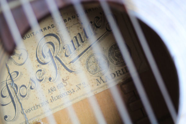 Jose Ramirez 1905 - Guitar 1 - Photo 13
