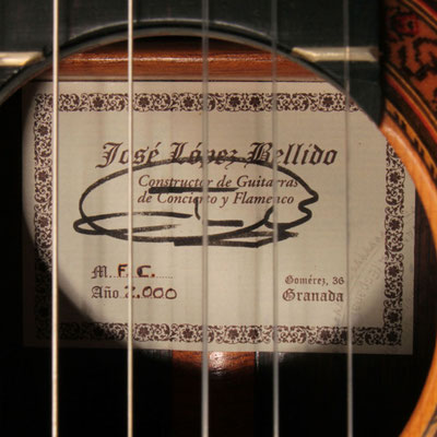 Jose Lopez Bellido 2000 - Guitar 2 - Photo 3