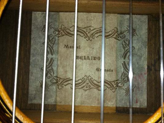 Manuel Bellido 1995 - Guitar 1 - Photo 3