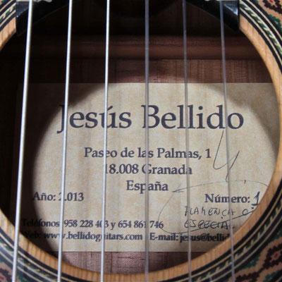 Jesus Bellido 2013 - Guitar 2 - Photo 4