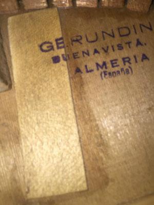 Gerundino Fernandez 1974 - Guitar 1 - Photo 1