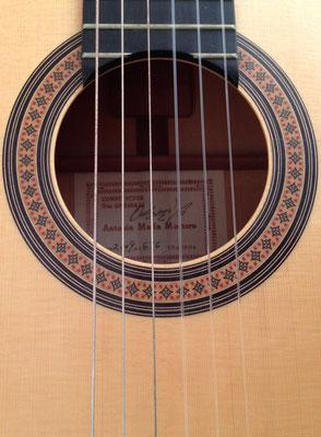 Antonio Marin Montero 2009 - Guitar 5 - Photo 1