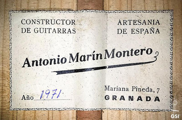Antonio Marin Montero 1971 - Guitar 2 - Photo 3