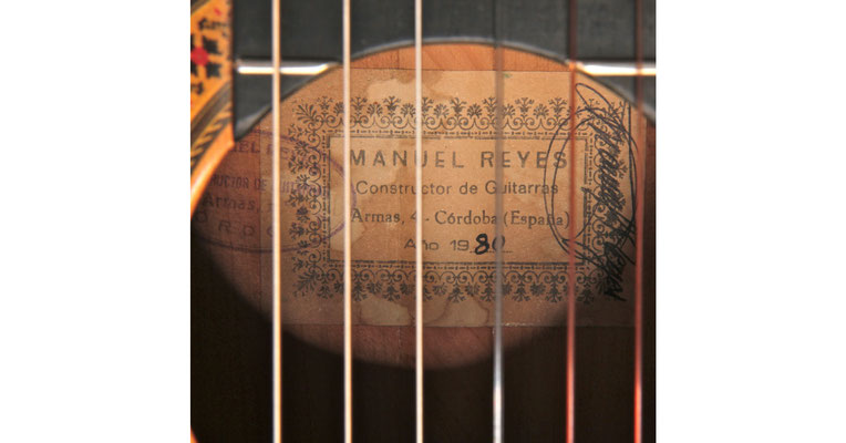 Manuel Reyes 1980 - Guitar 1 - Photo 4