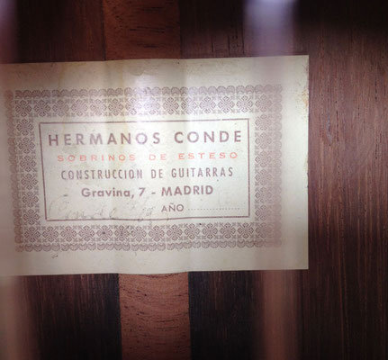 Hermanos Conde 1980 - Guitar 2 - Photo 6