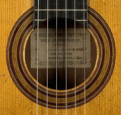 Antonio de Torres 1887 - Guitar 1 - Photo 5