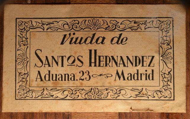 Santos Hernandez 1950 - Guitar 1 - Photo 1