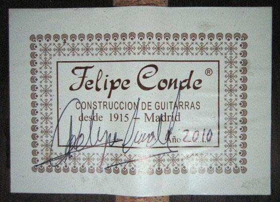 Felipe Conde 2010 - Guitar 3 - Photo 3