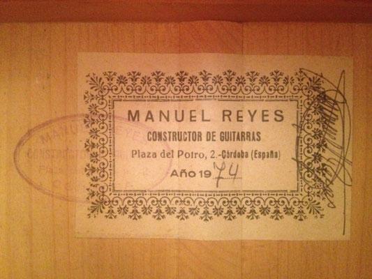 Manuel Reyes 1974 - Guitar 2 - Photo 2
