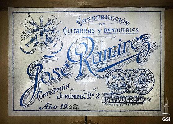 Jose Ramirez 1945 - Guitar 1 - Photo 3