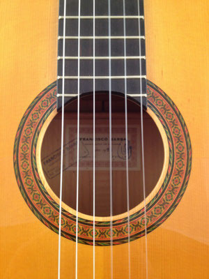 Francisco Barba 1986 - Guitar 1 - Photo 1