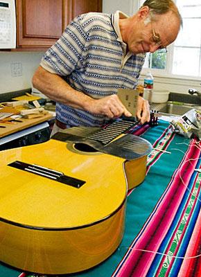 Lester Devoe Luthier - Gitarrenabuer - Flamenco Guitar - Flamenco Gitarre #2