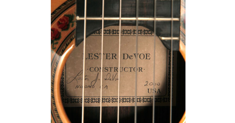 Lester Devoe 2000  - Guitar 1 - Photo 5