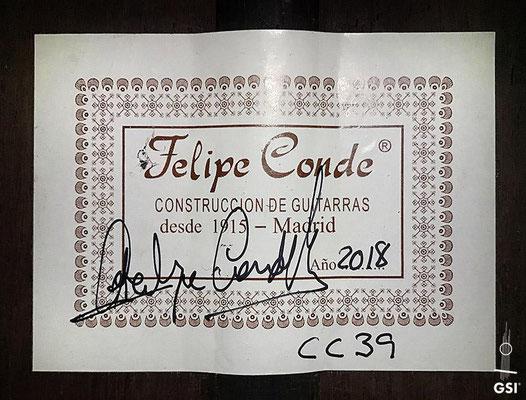 Felipe Conde 2018 - Guitar 7 - Photo 3