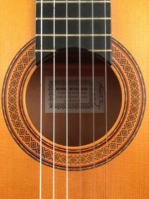 Manuel Reyes Hijo 2001 - Guitar 4 - Photo 31