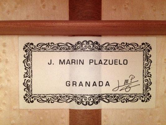 Jose Marin Plazuelo 2012 - Guitar 1 - Photo 2