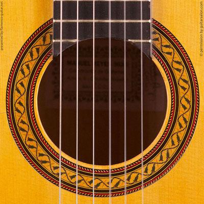 MANUEL REYES HIJO | GUITAR  GITARRE | 2005  | ROSETTES ROSETTEN