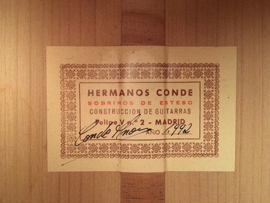 Hermanos Conde 1992 - Guitar 2 - Photo 2