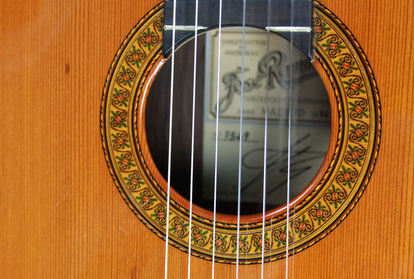 Jose Ramirez 1974 - Guitar 2 - Photo 10