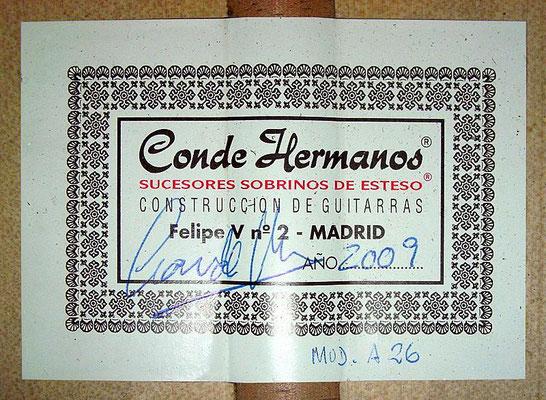 Hermanos Conde 2009 - Guitar 2 - Photo 6