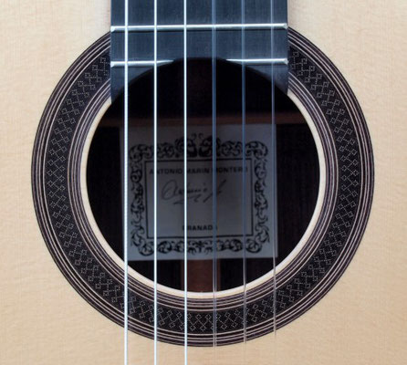 Antonio Marin Montero 2014 - Guitar 4 - Photo 1